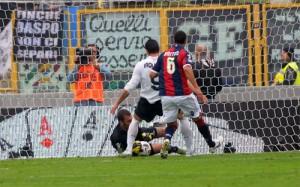 PK を止めたViviano ©Bologna FC