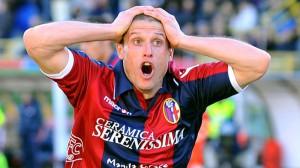 PK とってもらえずガーンなペレス © UEFA.com