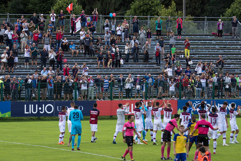 今週末から仕上げの段階に入ります © Bologna FC