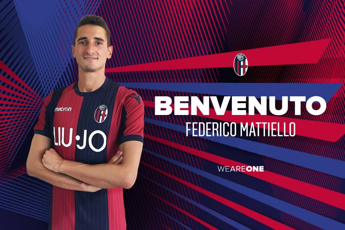 Federico Mattiello フェデリコ・マッティエッロを獲得 © Bologna FC