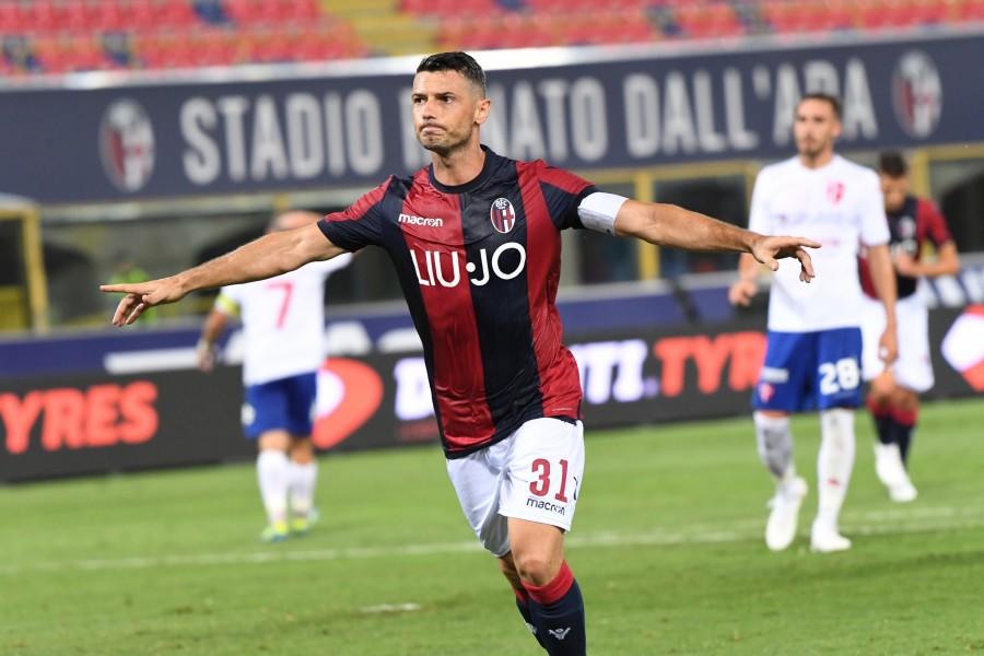 先制点のジェマイリ © Bologna FC