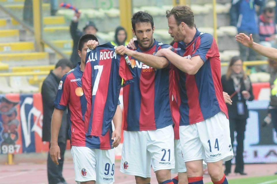 デッラロッカへメッセージ © Bologna FC