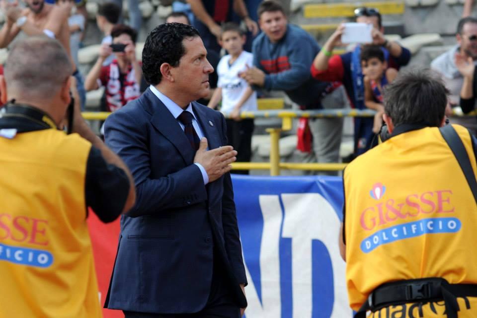 タコピーナ会長とともにヨーロッパへ © Bologna FC