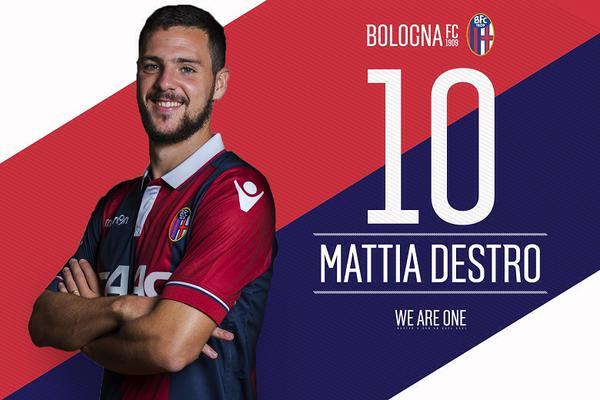 Mattia Destro マッティア・デストロを獲得