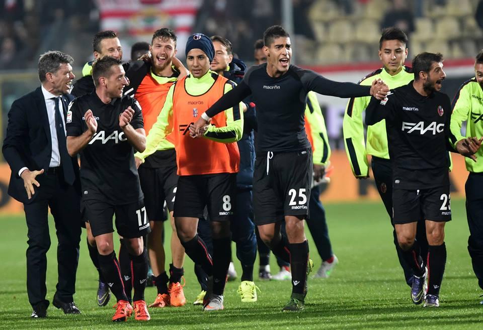 喜びの面々 © Bologna FC