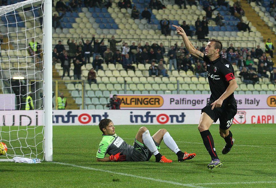 同点弾はガスタルデッロ © Bologna FC
